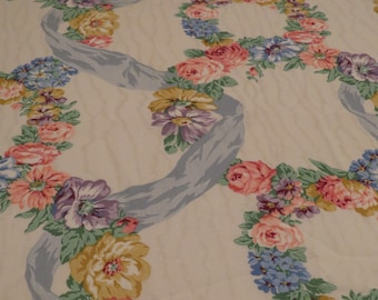 Vintage Floral King flat and fitted sheets