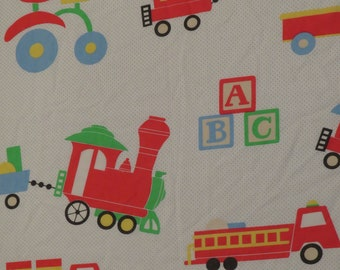 Vintage Playskool Twin sheet set -includes flat, fitted, and pillowcase