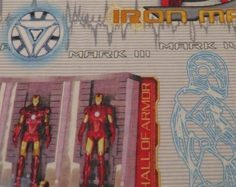 Iron Man Twin fitted sheet