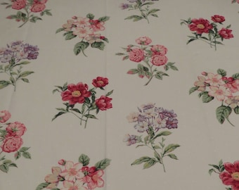 Vintage Floral Twin sheet set -includes flat, fitted, and 2 pillowcases