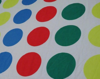 Hasbro's Twister Twin fitted sheet