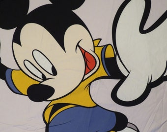 Vintage Mickey Mouse Soccer duvet cover