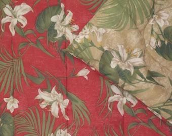 Vintage Floral full sized comforter