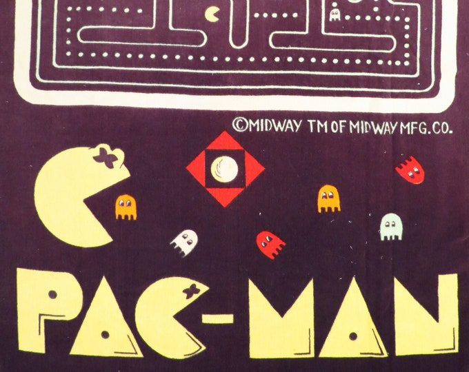 Featured listing image: Vintage Pac-Man towel