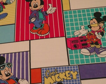 Vintage Mickey Mouse Double flat sheet