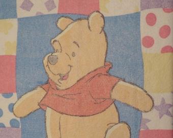 Vintage Winnie the Pooh small acrylic blanket