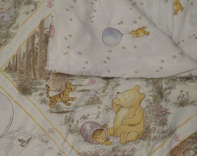 Featured listing image: Classic Winnie the Pooh Twin comforter