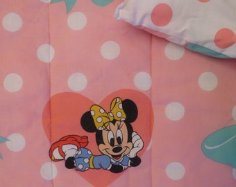 Vintage Minnie Mouse twin comforter