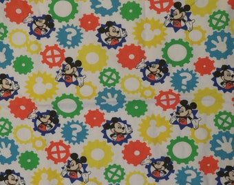 Mickey Mouse Toddler fitted sheet