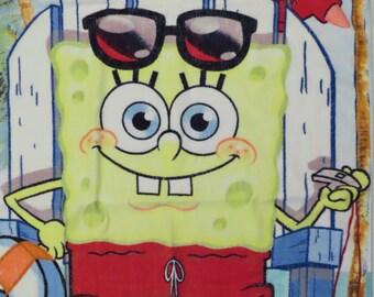 Vintage Spongebob Squarepants towel