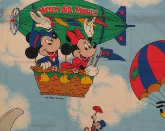 Vintage Mickey Mouse 4 piece valance set
