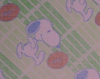 Vintage Snoopy Double flat sheet