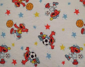Vintage Elmo Toddler top sheet