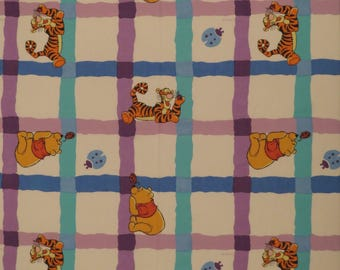 Vintage Winnie the Pooh twin sheet set -includes flat, fitted, and pillowcase