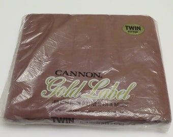 Vintage Cannon Twin fitted sheet -New in package