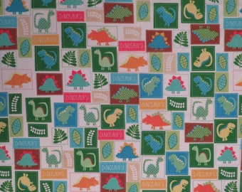Cute Dinosaur Full sized sheet set -includes flat, fitted, and 2 pillowcases