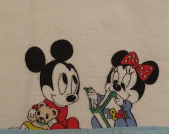 Vintage Mickey Mouse burping cloth