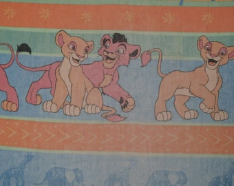 Vintage Lion King Twin fitted sheet