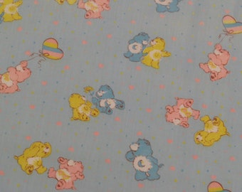 Vintage Care Bears fabric- a little over 2 yards