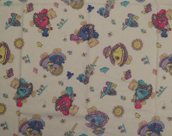 Purr-fect friends kitty fabric 1.5 yards