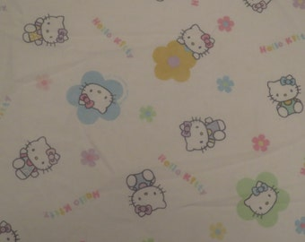 Hello Kitty Full fitted Sheet