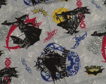 Batman Begins fabric from 2005- 1 yard