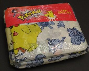 Original Pokemon Twin sheet set -new in package
