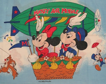 Vintage Mickey Mouse standard pillowcase