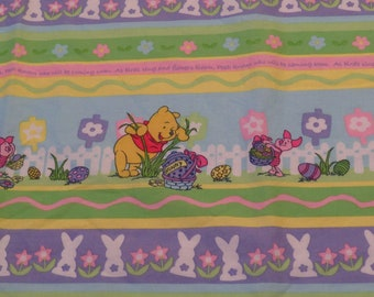 Winnie the Pooh Easter fabric