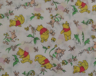 Vintage Winnie the Pooh small pillowcase