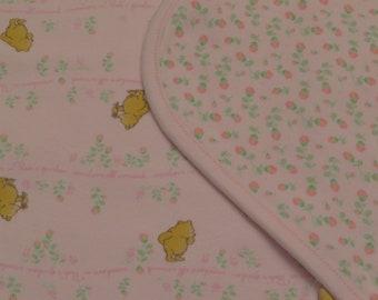 Classic Winnie the Pooh receiving blanket