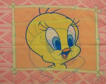 Set of 2 Tweety Bird pillowcases