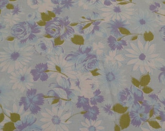 Vintage Floral Double flat sheet