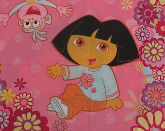 Set of 2 Dora the Explorer pillowcases