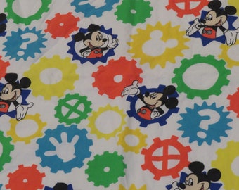 Mickey Mouse Toddler top sheet