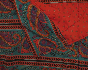 Vintage Paisley King sized comforter