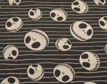 Vintage Nightmare Before Christmas full sized flat sheet