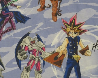 Vintage Yu-Gi-Oh! Twin flat and fitted sheets