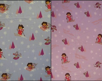 Dora the Explorer Twin sheet set -includes flat, fitted, and pillowcase