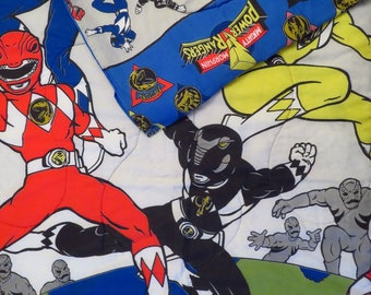 Vintage Power Rangers Twin comforter