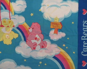 Set of 2 Care Bears pillowcases