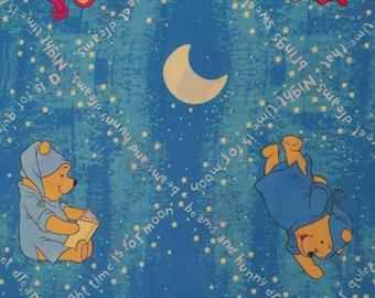 Set of 2 Vintage Winnie the Pooh Curtains