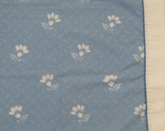 Set of 2 Vintage Floral king sized pillowcases