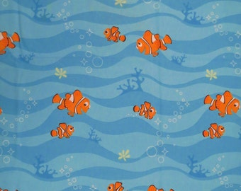 Finding Nemo Twin sheet set -includes flat, fitted, and pillowcase