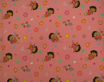Dora the Explorer Toddler flat sheet