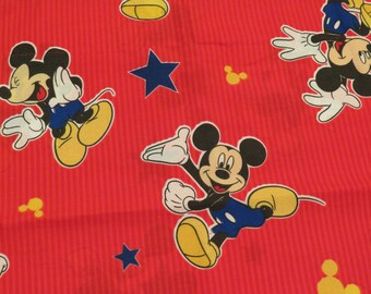 Vintage Mickey Mouse standard pillow sham