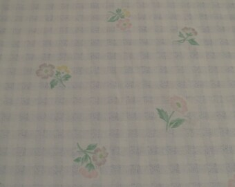 Vintage Floral Full sized flat and fitted sheets