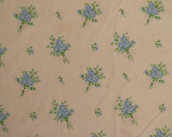 Vintage Floral Double fitted sheet