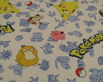 Vintage Pokemon Twin flat sheet