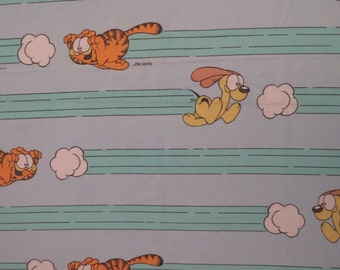 Vintage Garfield Twin flat and fitted sheets